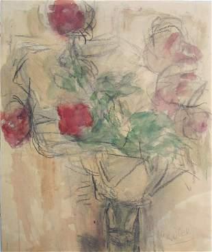 Bella Czobel Original DRAWING Hungarian Art