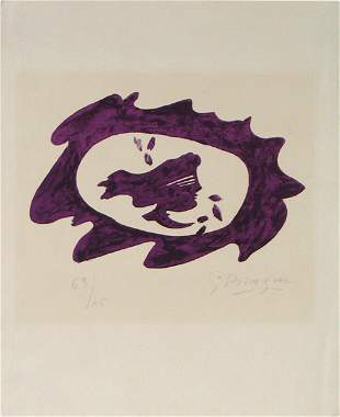 Georges Braque S&N Litho French Fauve/Cubist