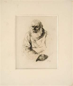 Anna Ticho Original DRAWING Jewish Art