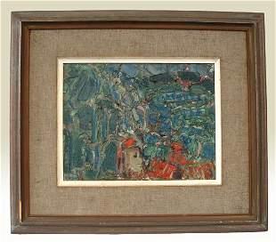 Yankel Jacques Kikoine Original Oil Painting