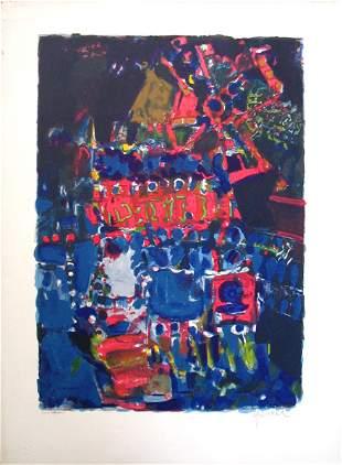 Yankel Jacques Kikoine Original S&N Lithograph