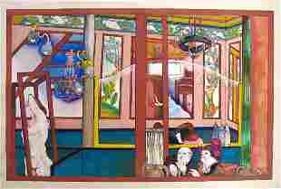 Moreno Pincas Original Pastel Painting