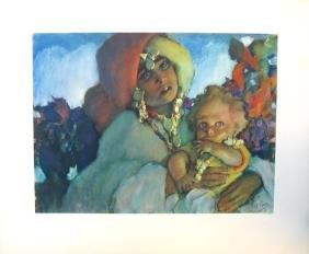 8006: Abel Pann Open-edition Print - Biblical Art