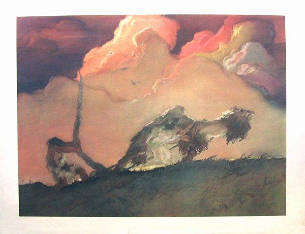 8007: Abel Pann Open-edition Print - Biblical Art