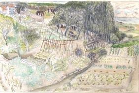 8016: Moreno Pincas Original PAINTING Israeli Art