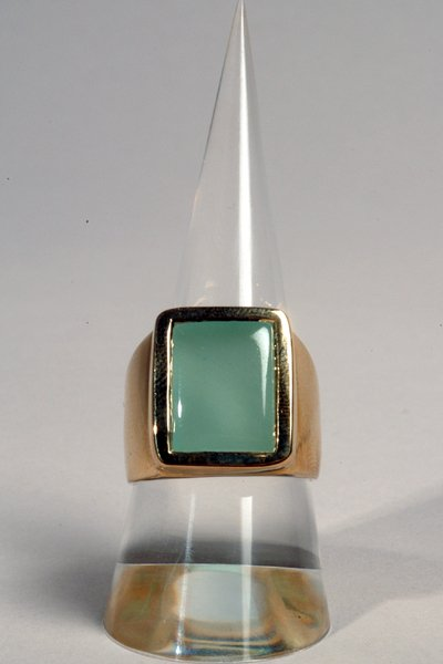9002: Aquamarine Ring - by Shaily Kirstain