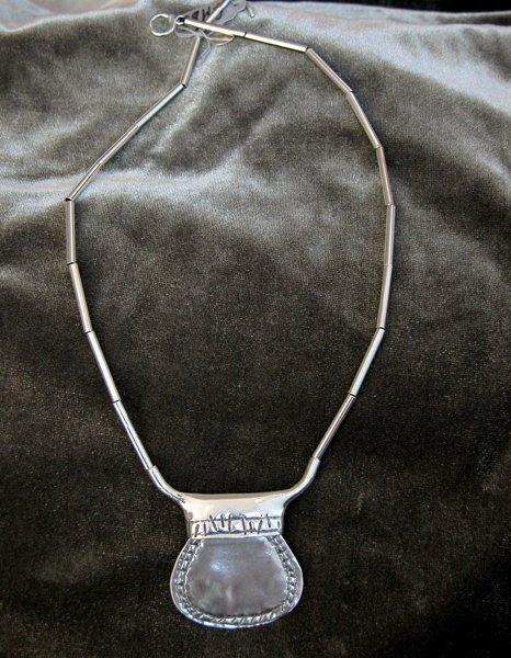 9008: Sterling Silver Necklaceby Shula Shek