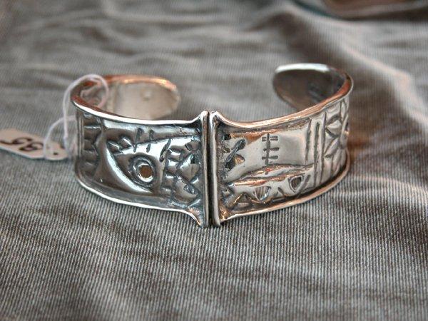 9011: Sterling Silver Bracelet by Shula Shek