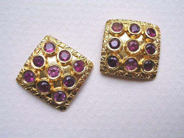 9018: Gold Plated Earrings by Meira Maisler
