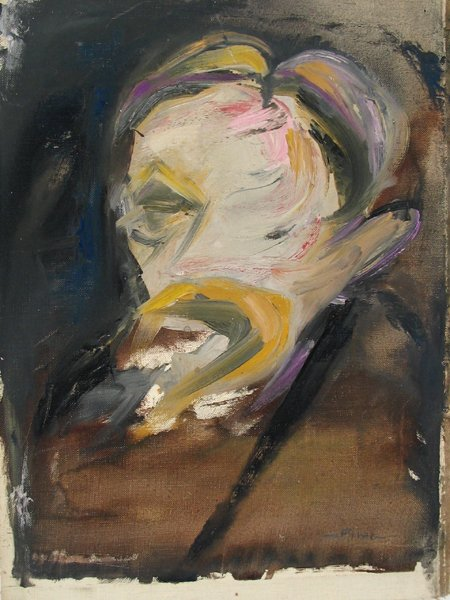 2005: Fima Original Oil Painting Israeli/Chinese Artist