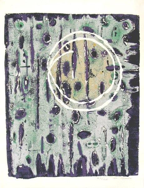 2011: Moshe Tamir Original Signed and No. Lithograph