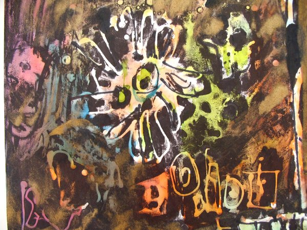 2103: Moshe Tamir Original Ink Painting Israeli Art - 5