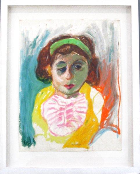 3020: Fima Original Pastel Painting Israeli/Chinese