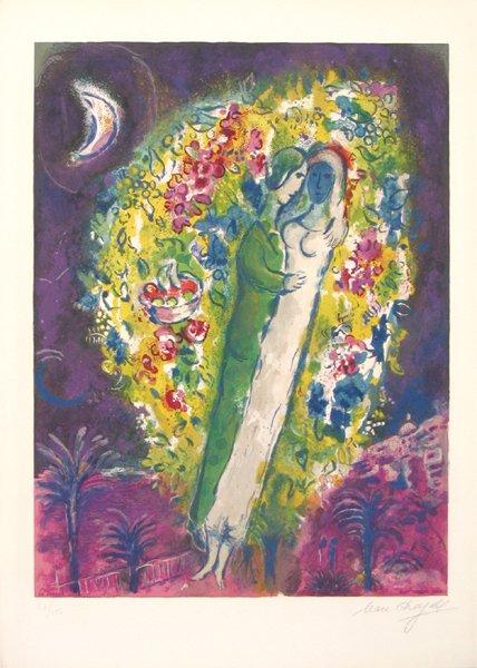 4108: Marc Chagall Original Lithograph