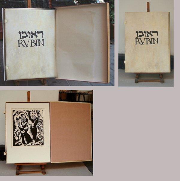 6: Reuven Rubin Original 10 Woodcuts Portfolio, Israeli