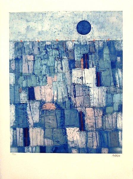 20: Mordecai Ardon (1896-1992) Original S&N LITHOGRAPH