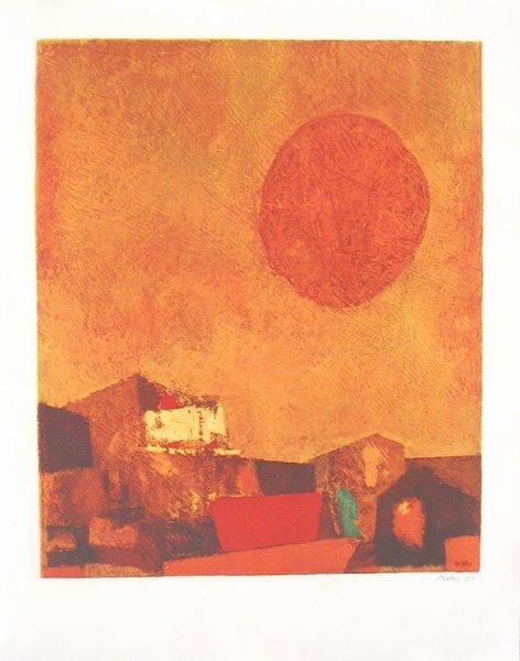23: M. Ardon Original S&N. Lithograph Jewish art