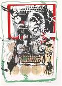 33: Igael Tumarkin Original S&N Silkscreen Israeli art