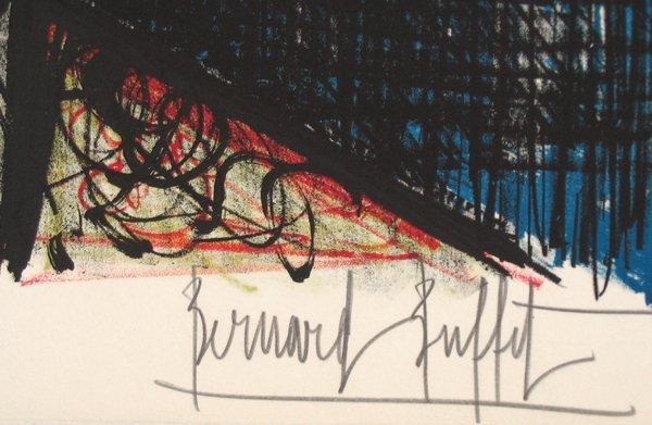 60: Bernard Buffet Signed and No. Lithograph - 5