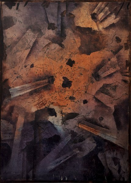 105: Mordecai Ardon Original work, Israeli art