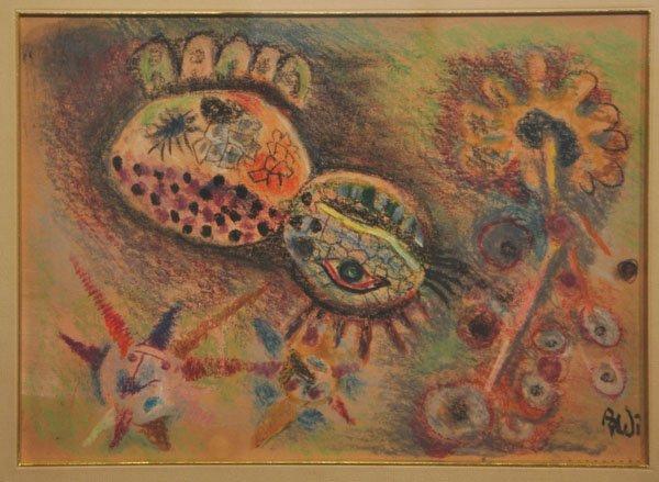6: Israel Paldi, Original Painting, Israeli art