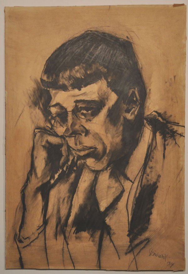 19: Jakob Steinhardt Original RARE drawing, Jewish art