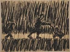 40: Alex Kremer, Original painting, Israeli art