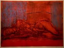 142: Jan Rauchwerger Original S&N lithograph