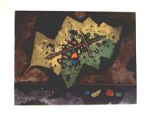 Mordechai Ardon, Original S&N Etching, Israeli art