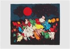 Mordecai Ardon Original S&N Silkscreen Israeli Art