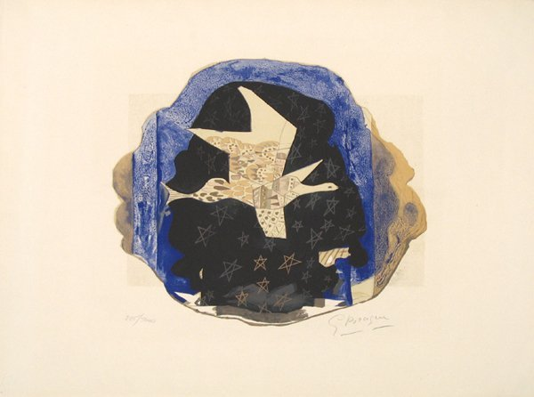 George Braque Signed and No. Lithograph