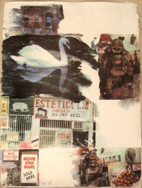 Robert Rauschenberg ORIGINAL S&N Color Screenprint