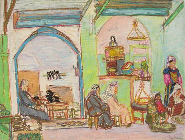 6010: Moreno Pincas Original Pastel Painting