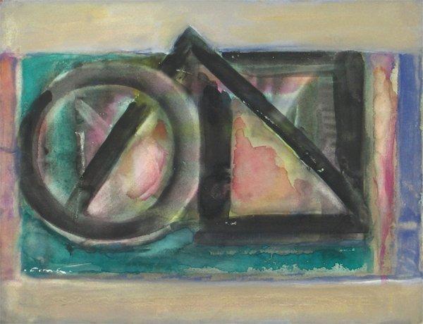 9204: Fima Original watercolor TAO Israeli/Chinese