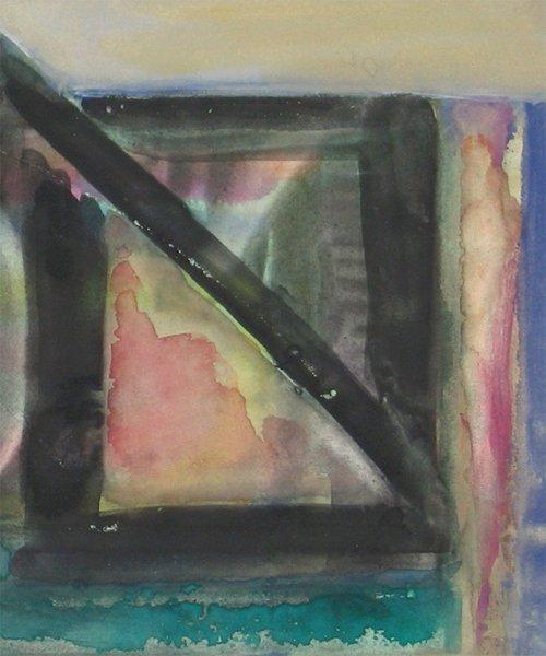 9204: Fima Original watercolor TAO Israeli/Chinese - 2