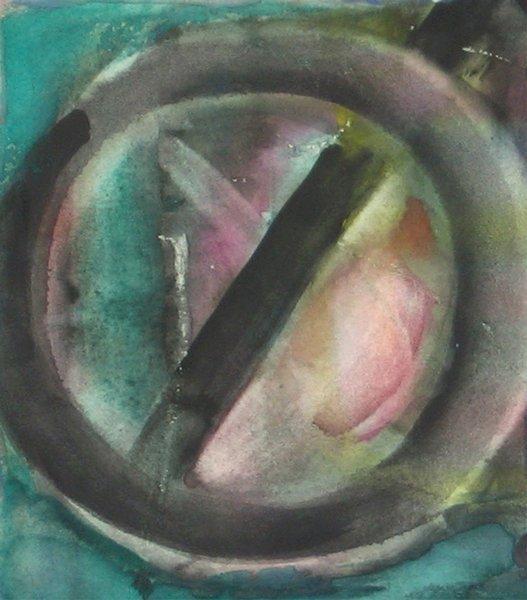 9204: Fima Original watercolor TAO Israeli/Chinese - 3