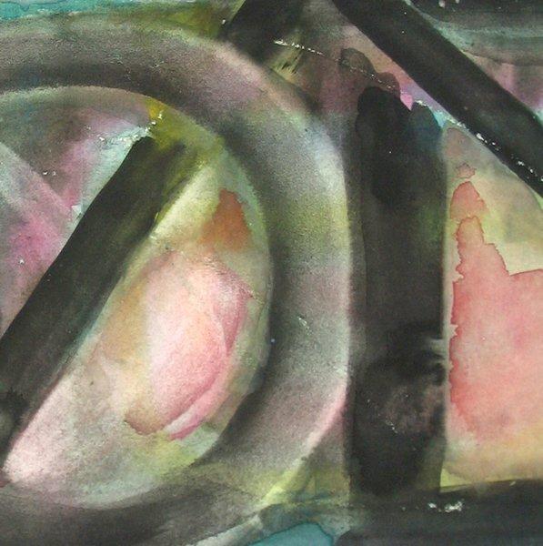 9204: Fima Original watercolor TAO Israeli/Chinese - 5