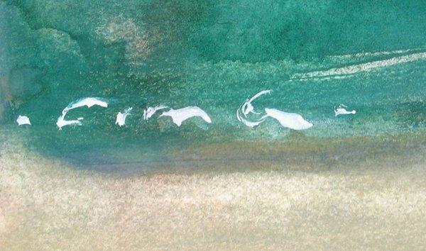 9204: Fima Original watercolor TAO Israeli/Chinese - 6