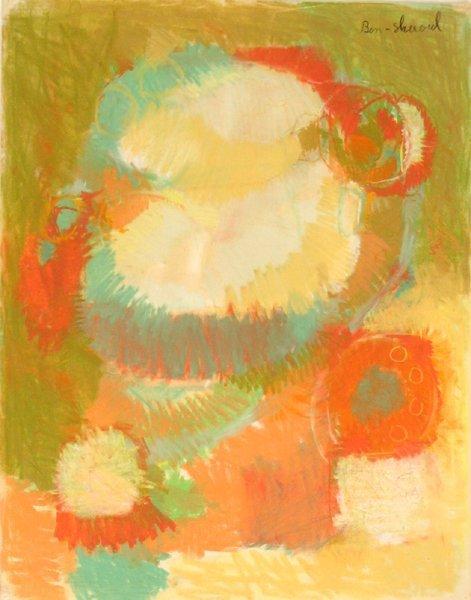 9221: David Ben-Shaul Original Pastel Painting