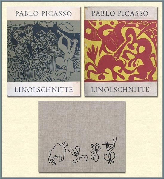 9247: Picasso Decorated Portfolio of 45 Lino-cuts