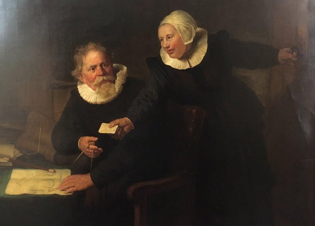 Thomas Waterman Wood-Rembrandt Shipbuilder's Wife