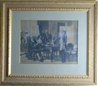Thure De Thulstrup (1848-1930) Ben Franklin Painting