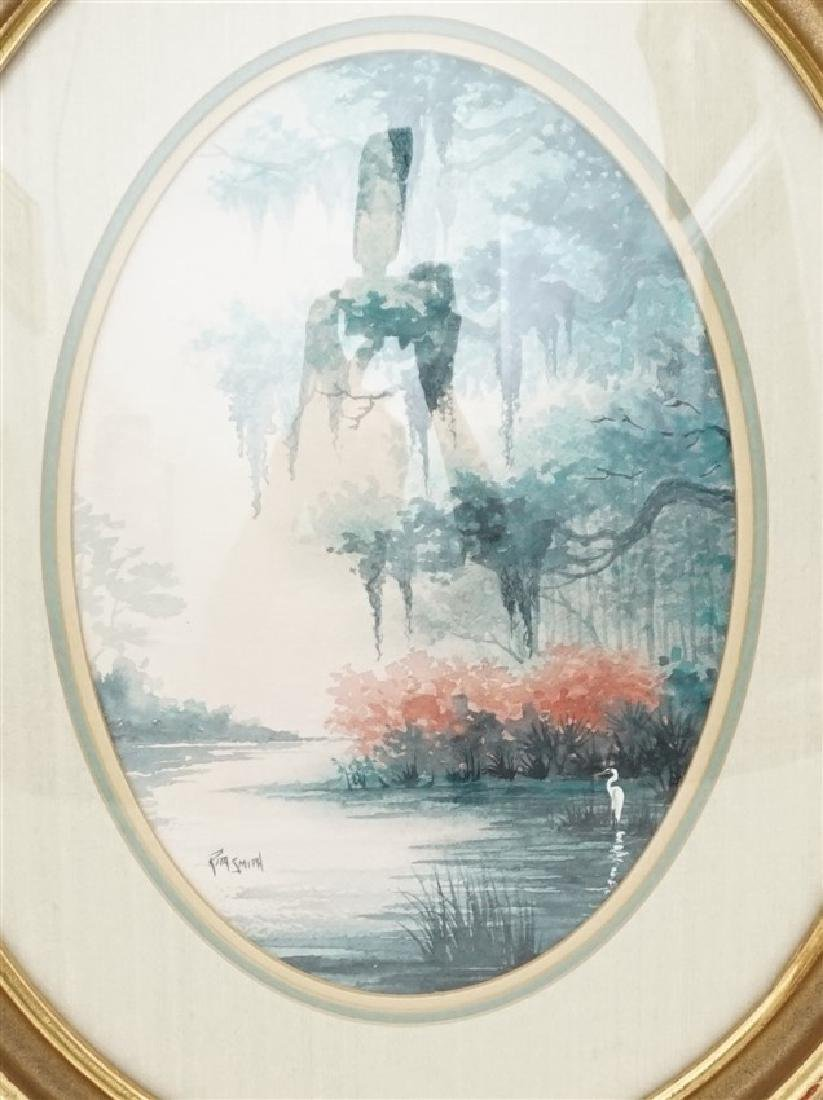 RITA SMITH LOWCOUNTRY LAGOON WATERCOLOR - 2