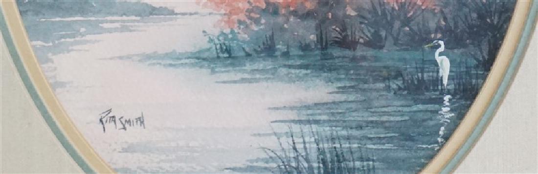 RITA SMITH LOWCOUNTRY LAGOON WATERCOLOR - 4