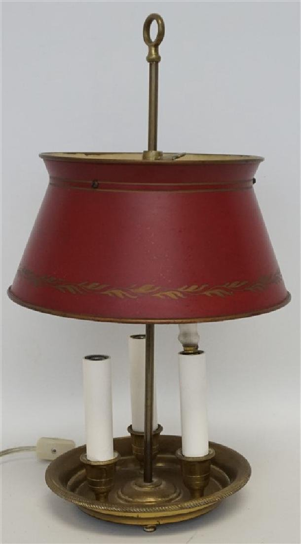 PETITE FRENCH TÔLE BOUILLOTTE LAMP