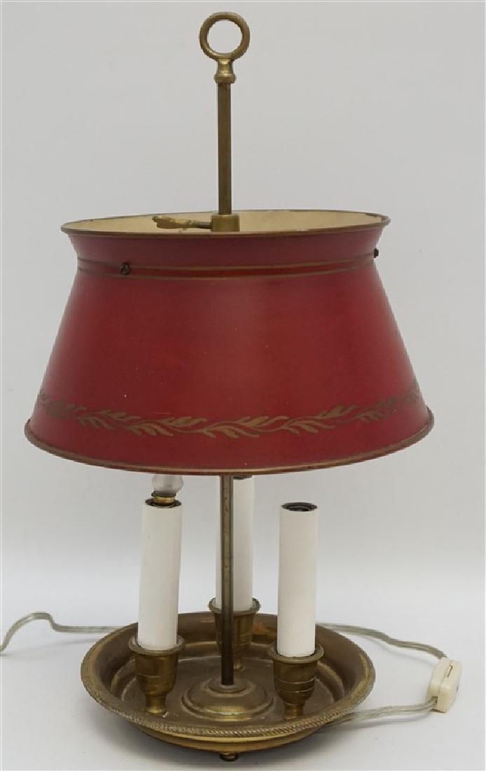 PETITE FRENCH TÔLE BOUILLOTTE LAMP - 4