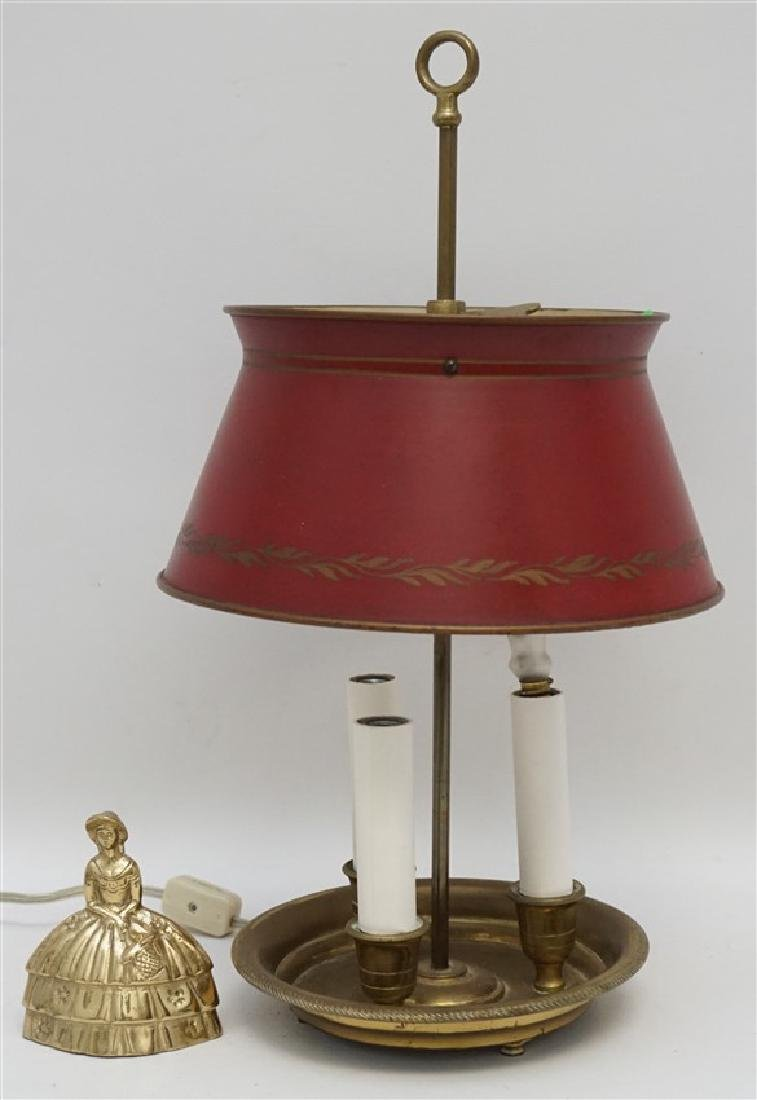 PETITE FRENCH TÔLE BOUILLOTTE LAMP - 6