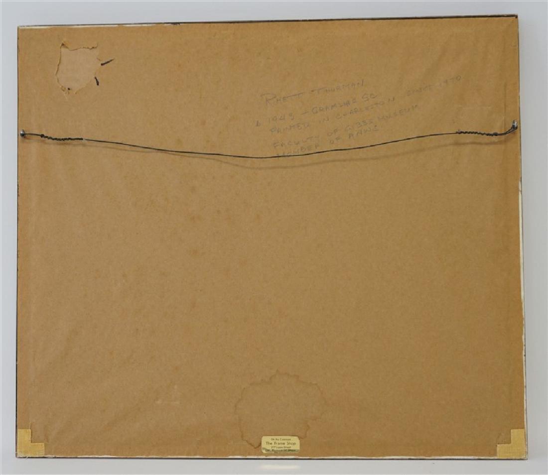 RHETT THURMAN CHARLESTON SAILING WATERCOLOR - 7