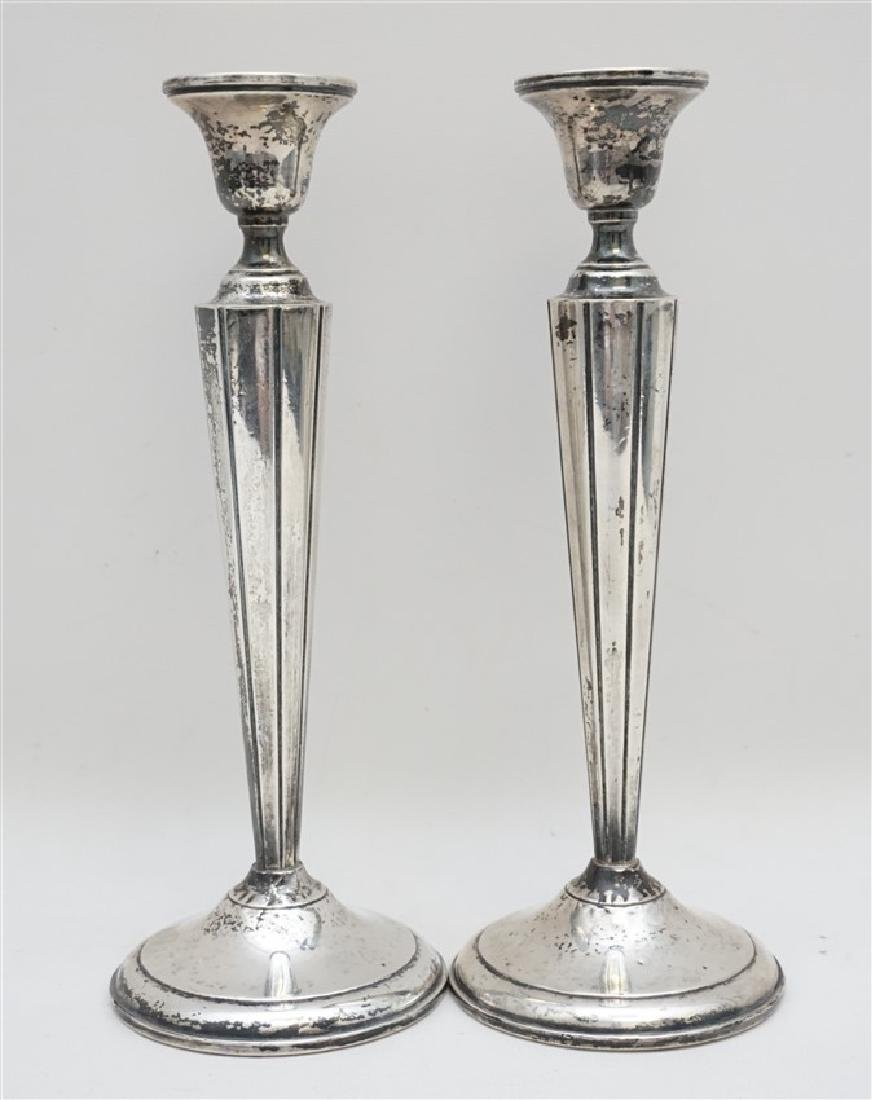 AMERICAN STERLING CANDLESTICKS