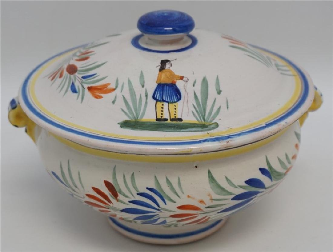 HENRIOT QUIMPER FAIENCE TUREEN